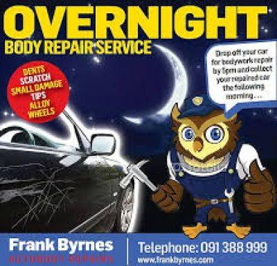 Frank Byrnes Auto Body Crash Repairs Galway Crash Repair